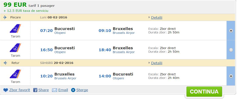Bucuresti Bruxelles