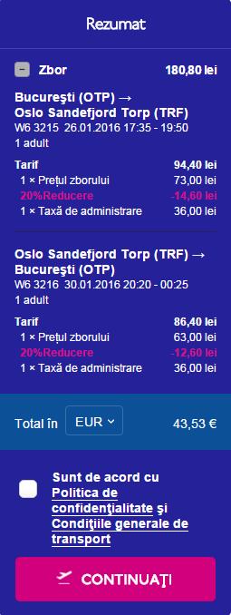 Bucuresti TORP Sandefjord