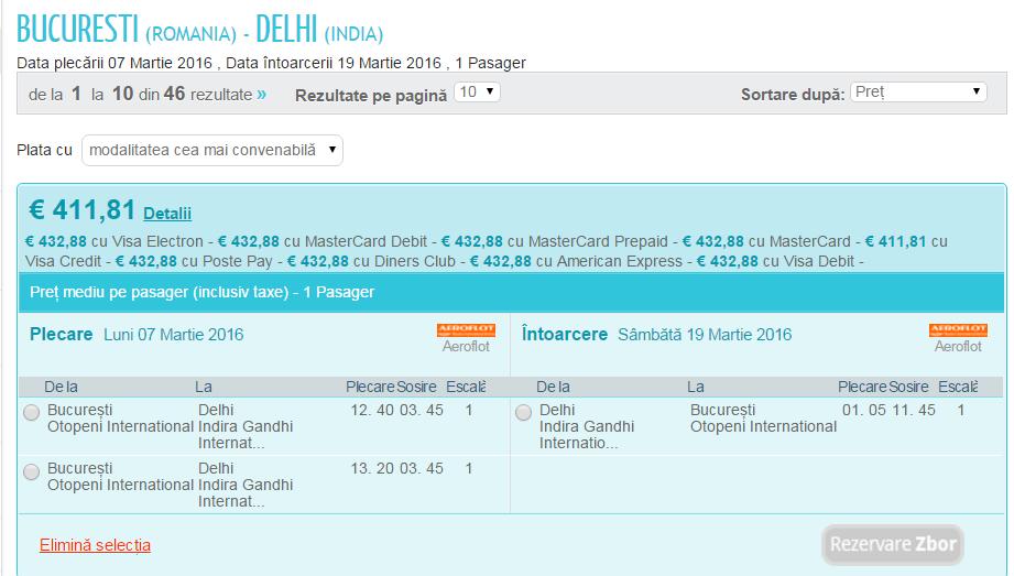 Bucuresti Delhi Visa