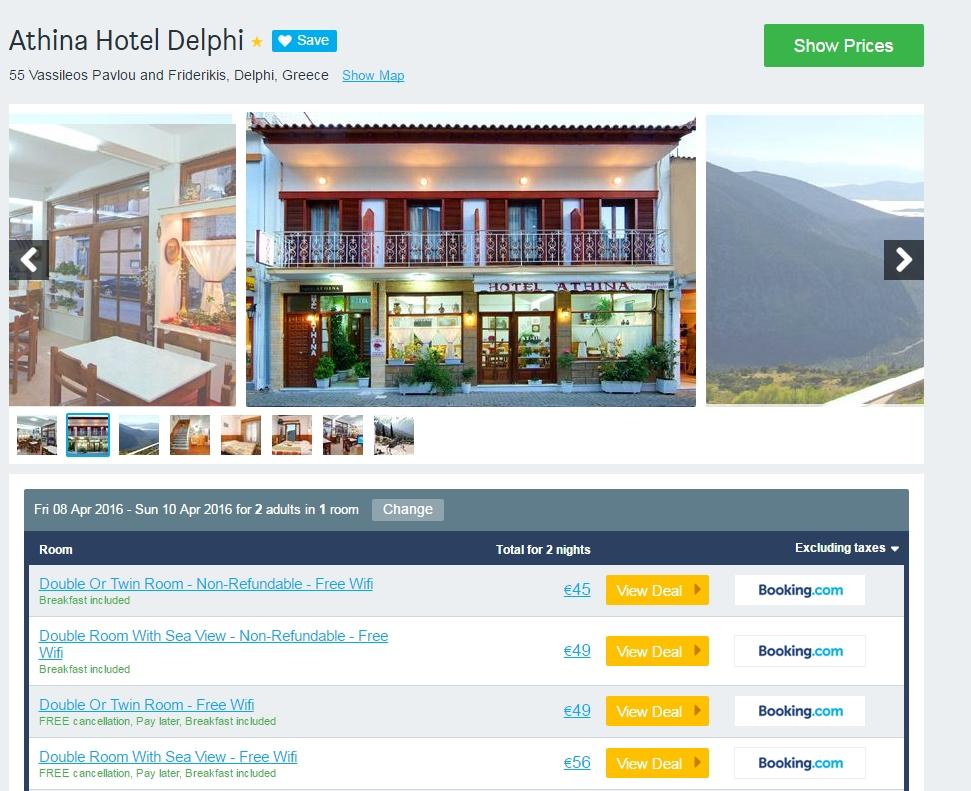 Athina Hotel Delphi
