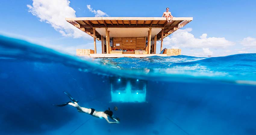 manta resort, tanzania, travelator