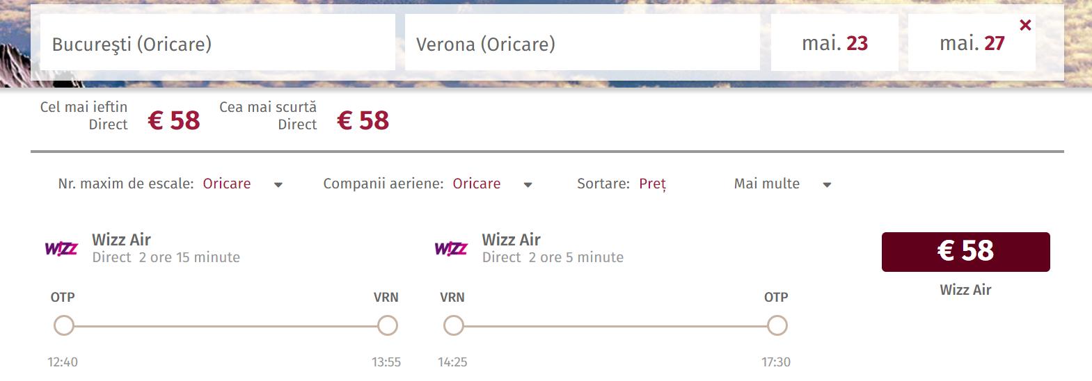 Bucuresti Verona