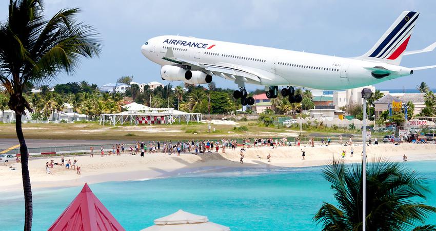 zbor,bilet,ieftin,avion,sint maarten,travelator