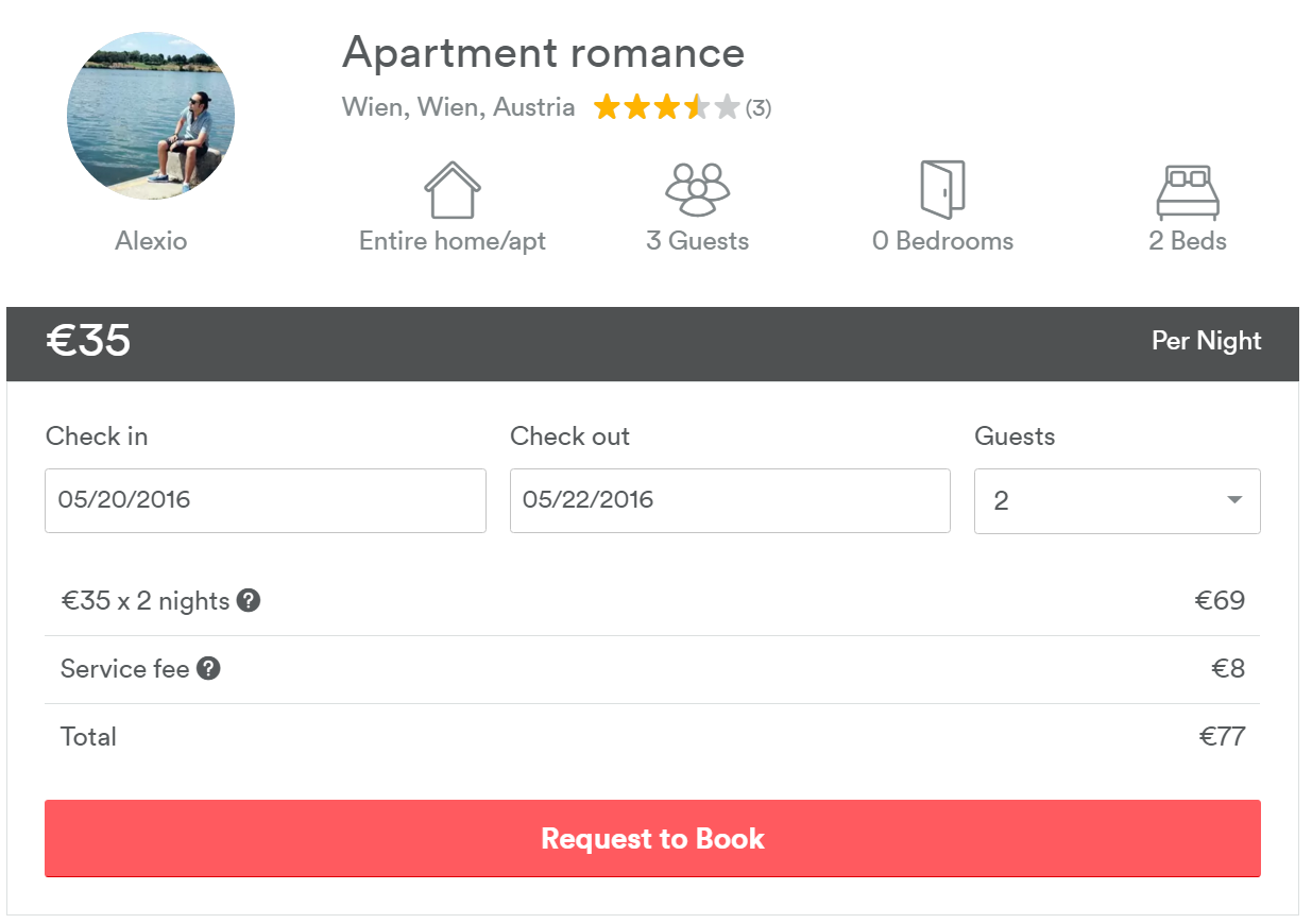 cazare Viena airbnb