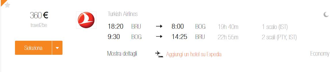 Bruxelles Bogota