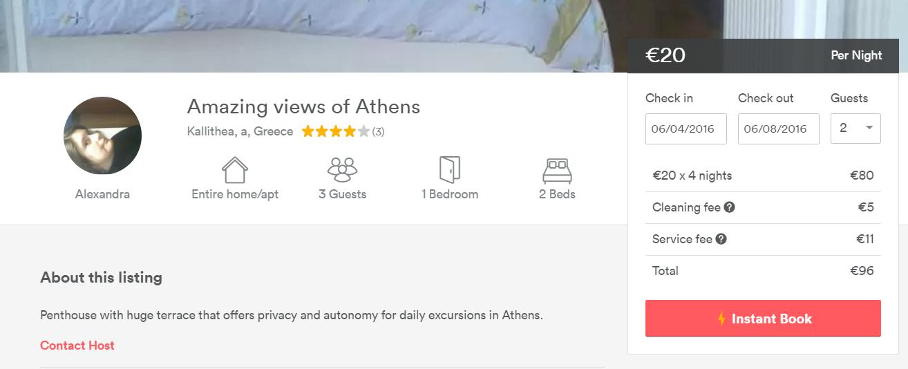 Cazare Atena