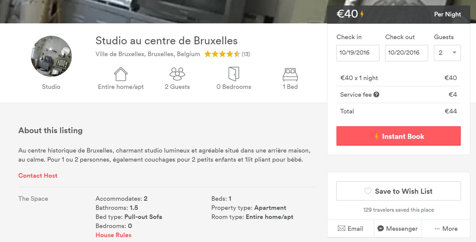 Cazare Bruxelles