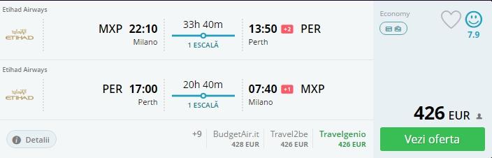 Milano - Perth 426