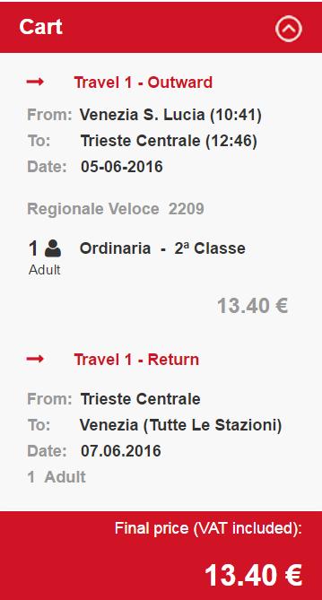 Tren Venetia Trieste