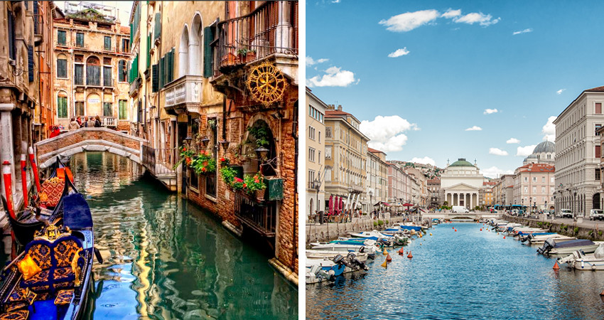 zbor,bilet,ieftin,avion,cazare,vacanta,venetia si trieste, italia,travelator