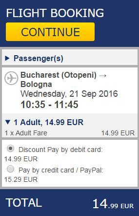 Bucuresti Bologna