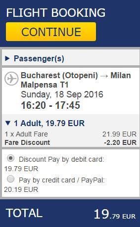 Bucuresti Milano