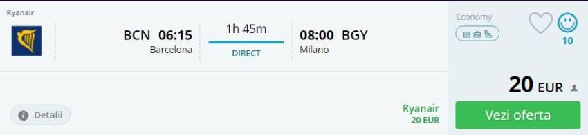 Barcelona Milano