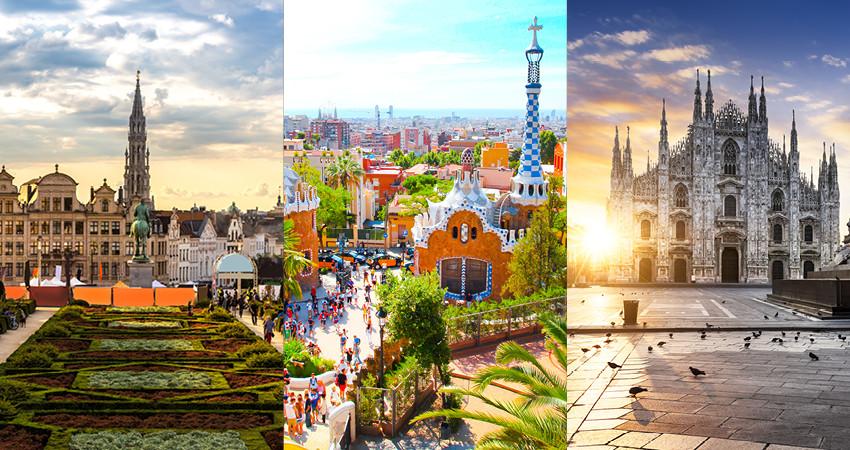 bruxelles, barcelona, milano, europa, travelator.ro, tur, vacanta ieftina, zbor ieftin, diy