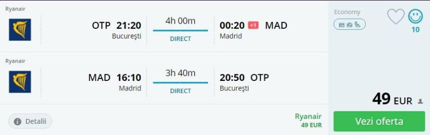 Bucuresti MAdrid