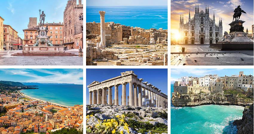 city break-uri sub 100 de euro, bologna, bari, milano, catania, atena, larnaca, italia, cipru, grecia, travelator.ro