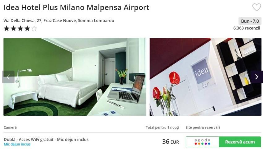cazare Milano