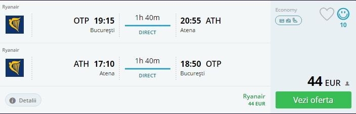 Bucuresti - Atena
