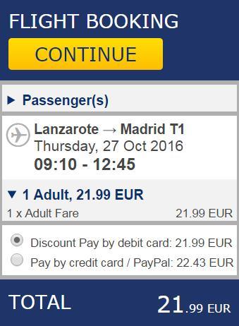 Lanzatote Madrid