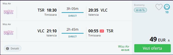 Timisoara Valencia