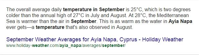 Vremea septembrie