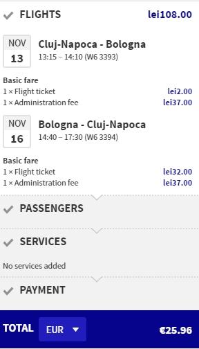 cluj-bologna-26-euro