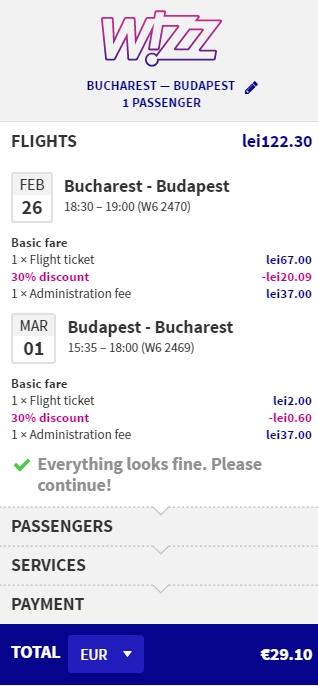 bucuresti-budapesta