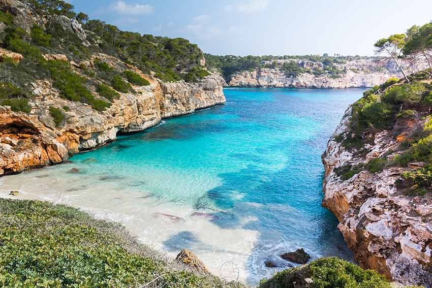 cele mai frumoase plaje, plaje europa, travelator.ro, ponturi vacanta, calatorii, zboruri si vacante ieftine, calo des moro, mallorca