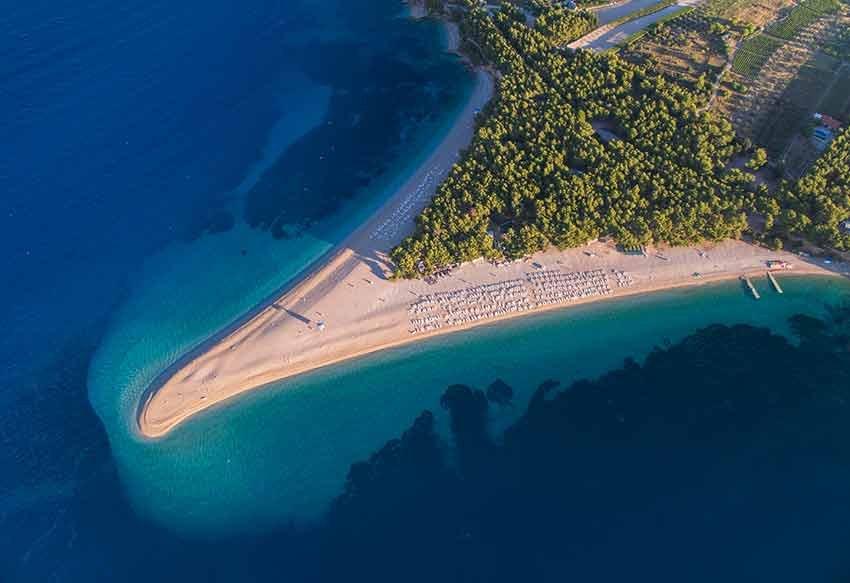 cele mai frumoase plaje, plaje europa, travelator.ro, ponturi vacanta, calatorii, zboruri si vacante ieftine, zlatny rat, bol, croatia